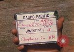 Image of Chaplain Angelo Liteky South Vietnam, 1968, second 6 stock footage video 65675062053