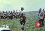 Image of Memorial ceremony for fallen of 199th Light Infantry Brigade South Vietnam, 1968, second 34 stock footage video 65675062054