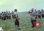 Image of Memorial ceremony for fallen of 199th Light Infantry Brigade South Vietnam, 1968, second 35 stock footage video 65675062054