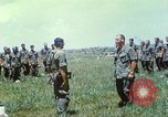 Image of Memorial ceremony for fallen of 199th Light Infantry Brigade South Vietnam, 1968, second 36 stock footage video 65675062054