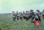 Image of Memorial ceremony for fallen of 199th Light Infantry Brigade South Vietnam, 1968, second 39 stock footage video 65675062054