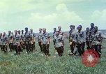 Image of Memorial ceremony for fallen of 199th Light Infantry Brigade South Vietnam, 1968, second 41 stock footage video 65675062054