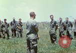 Image of Memorial ceremony for fallen of 199th Light Infantry Brigade South Vietnam, 1968, second 45 stock footage video 65675062054