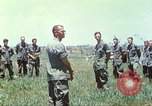 Image of Memorial ceremony for fallen of 199th Light Infantry Brigade South Vietnam, 1968, second 48 stock footage video 65675062054
