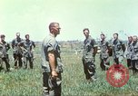 Image of Memorial ceremony for fallen of 199th Light Infantry Brigade South Vietnam, 1968, second 49 stock footage video 65675062054
