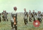 Image of Memorial ceremony for fallen of 199th Light Infantry Brigade South Vietnam, 1968, second 52 stock footage video 65675062054