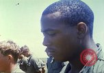 Image of Memorial ceremony for fallen of 199th Light Infantry Brigade South Vietnam, 1968, second 57 stock footage video 65675062054