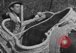 Image of Farmers plowing fields with wooden plows and horses Spain, 1937, second 50 stock footage video 65675062079