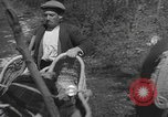 Image of Farmers plowing fields with wooden plows and horses Spain, 1937, second 53 stock footage video 65675062079