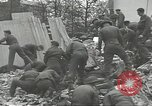 Image of V-2 attack Antwerp Belgium, 1944, second 57 stock footage video 65675062167
