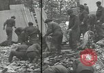 Image of V-2 attack Antwerp Belgium, 1944, second 62 stock footage video 65675062167