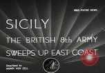Image of British Army Italy, 1943, second 1 stock footage video 65675062168