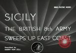 Image of British Army Italy, 1943, second 3 stock footage video 65675062168