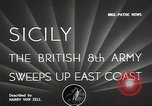 Image of British Army Italy, 1943, second 5 stock footage video 65675062168