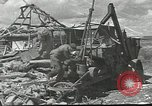 Image of war damage Russian Front, 1944, second 10 stock footage video 65675062180