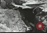 Image of war damage Russian Front, 1944, second 16 stock footage video 65675062180