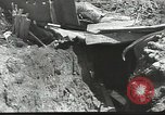 Image of war damage Russian Front, 1944, second 17 stock footage video 65675062180