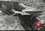 Image of war damage Russian Front, 1944, second 19 stock footage video 65675062180