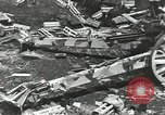 Image of war damage Russian Front, 1944, second 52 stock footage video 65675062180