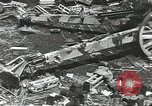 Image of war damage Russian Front, 1944, second 53 stock footage video 65675062180