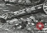 Image of war damage Russian Front, 1944, second 54 stock footage video 65675062180