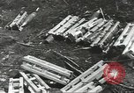 Image of war damage Russian Front, 1944, second 55 stock footage video 65675062180