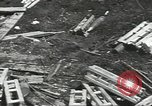Image of war damage Russian Front, 1944, second 56 stock footage video 65675062180