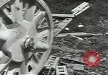 Image of war damage Russian Front, 1944, second 57 stock footage video 65675062180