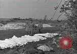 Image of burial of dead bodies Nettuno Italy, 1944, second 7 stock footage video 65675062183