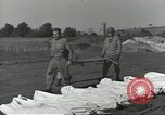Image of burial of dead bodies Nettuno Italy, 1944, second 14 stock footage video 65675062183