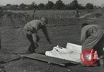 Image of burial of dead bodies Nettuno Italy, 1944, second 20 stock footage video 65675062183