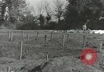 Image of burial of dead bodies Nettuno Italy, 1944, second 41 stock footage video 65675062183