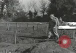 Image of burial of dead bodies Nettuno Italy, 1944, second 48 stock footage video 65675062183