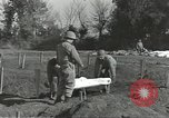 Image of burial of dead bodies Nettuno Italy, 1944, second 52 stock footage video 65675062183
