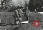Image of burial of dead bodies Nettuno Italy, 1944, second 56 stock footage video 65675062183