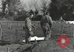 Image of burial of dead bodies Nettuno Italy, 1944, second 57 stock footage video 65675062183