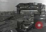 Image of bomb damaged rail road station Hamm Germany, 1945, second 6 stock footage video 65675062219