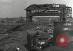 Image of bomb damaged rail road station Hamm Germany, 1945, second 7 stock footage video 65675062219