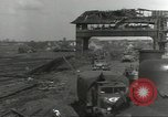 Image of bomb damaged rail road station Hamm Germany, 1945, second 9 stock footage video 65675062219