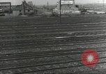 Image of bomb damaged rail road station Hamm Germany, 1945, second 33 stock footage video 65675062219