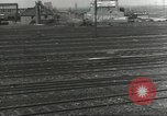 Image of bomb damaged rail road station Hamm Germany, 1945, second 34 stock footage video 65675062219