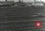 Image of bomb damaged rail road station Hamm Germany, 1945, second 36 stock footage video 65675062219