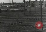 Image of bomb damaged rail road station Hamm Germany, 1945, second 43 stock footage video 65675062219