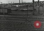 Image of bomb damaged rail road station Hamm Germany, 1945, second 44 stock footage video 65675062219