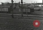 Image of bomb damaged rail road station Hamm Germany, 1945, second 46 stock footage video 65675062219