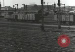 Image of bomb damaged rail road station Hamm Germany, 1945, second 47 stock footage video 65675062219