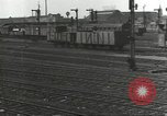 Image of bomb damaged rail road station Hamm Germany, 1945, second 48 stock footage video 65675062219