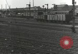 Image of bomb damaged rail road station Hamm Germany, 1945, second 49 stock footage video 65675062219