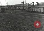 Image of bomb damaged rail road station Hamm Germany, 1945, second 53 stock footage video 65675062219
