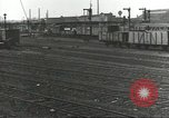 Image of bomb damaged rail road station Hamm Germany, 1945, second 54 stock footage video 65675062219